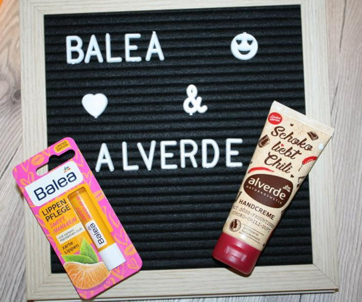 Balea Lippenpflege Stift Sweet Mandarin Alverde Handcreme Schoko