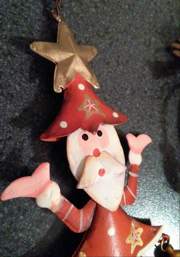 Bild 4: Weihnachtsdeko / Blech