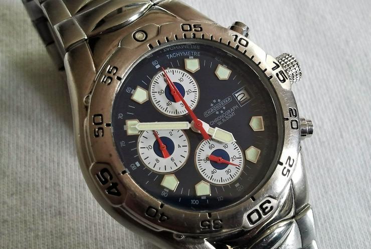 Chronostar Herrenchronograph - Herren Armbanduhren - Bild 1