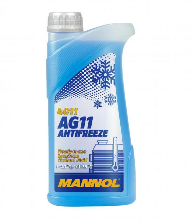 Bild 5: Kühlerfrostschutz Mannol AG13