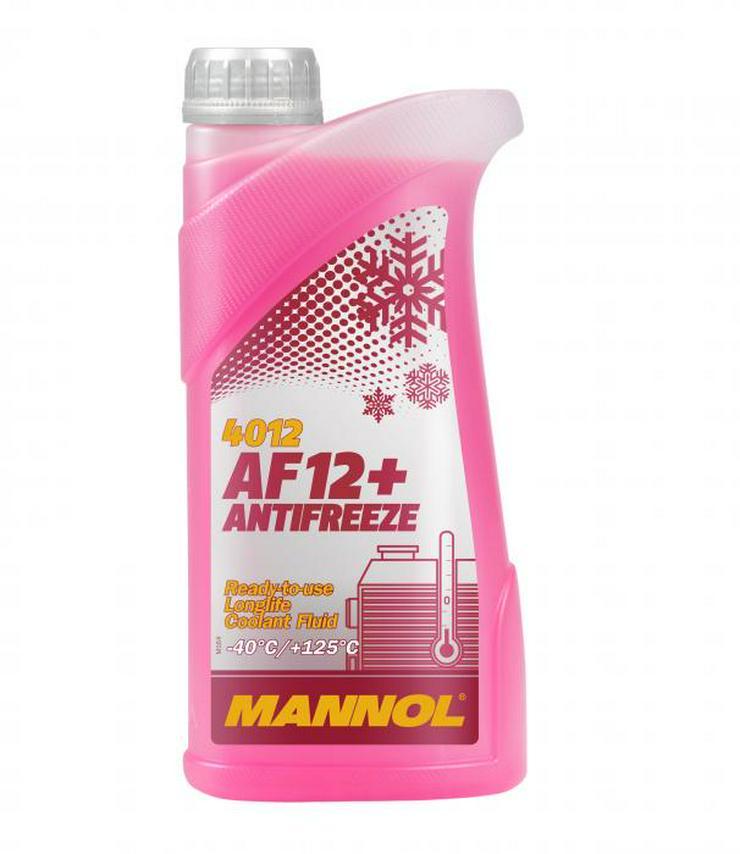 Bild 6: Kühlerfrostschutz Mannol AG13