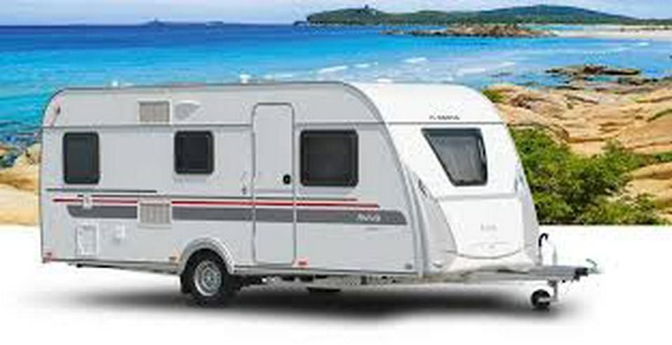 Bild 1: Wohnwagen Adria Aviva 482 LH, Mover, Klima, TV, Vorzelt, Warmwasser