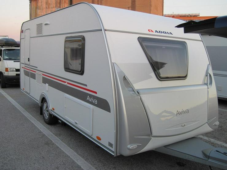 Wohnwagen Adria Aviva 482 LH, Mover, Klima, TV, Vorzelt, Warmwasser - Wohnwagen - Bild 6