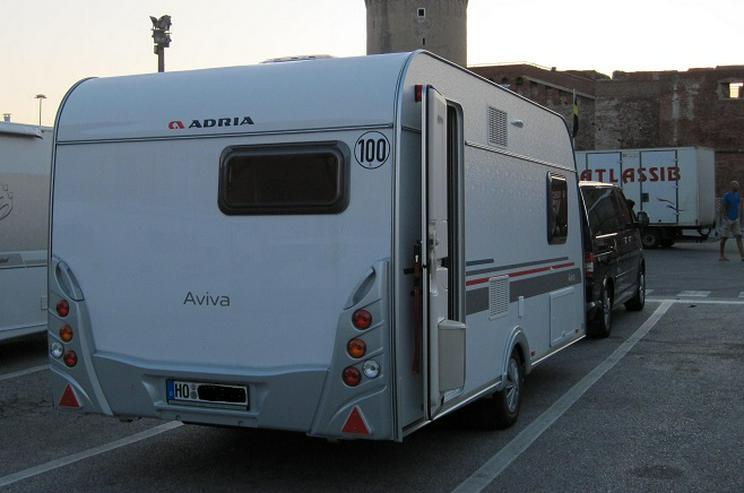 Bild 7: Wohnwagen Adria Aviva 482 LH, Mover, Klima, TV, Vorzelt, Warmwasser