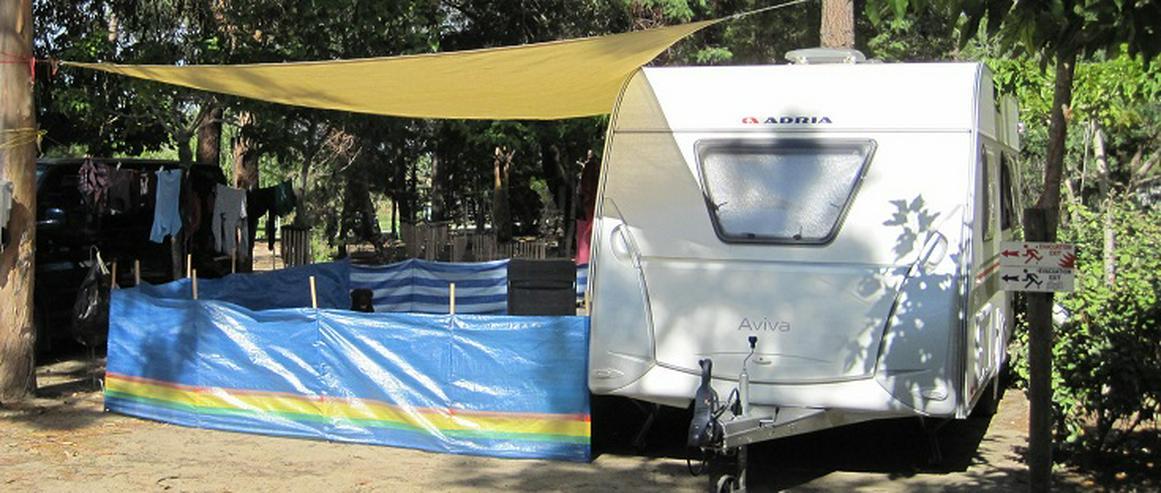 Bild 12: Wohnwagen Adria Aviva 482 LH, Mover, Klima, TV, Vorzelt, Warmwasser
