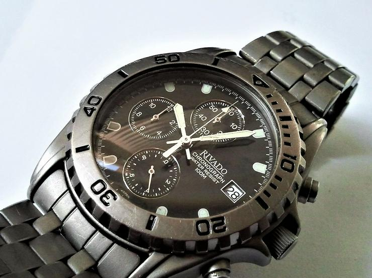 Rivado Titanium Herrenchronograph