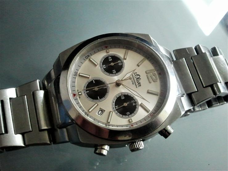 s.Oliver Herrenchronograph - Herren Armbanduhren - Bild 1