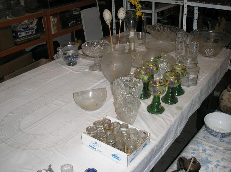 4 Kartons voller schöer Glasartikel - Gläser - Bild 1
