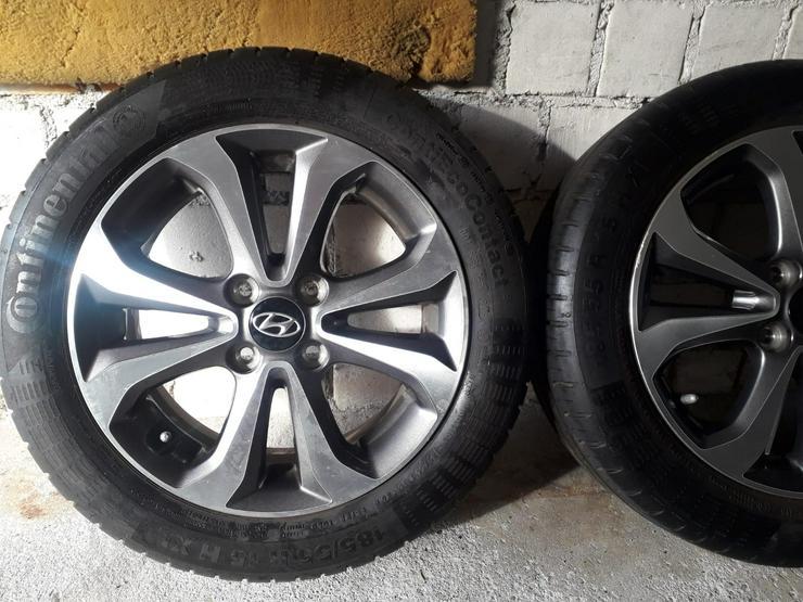 Alufelgen 4x100 original von Hyundai! 185/55/15r. I20 gb rdks