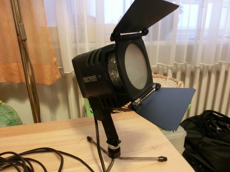 Videoleuchte mit Lichtklappen
