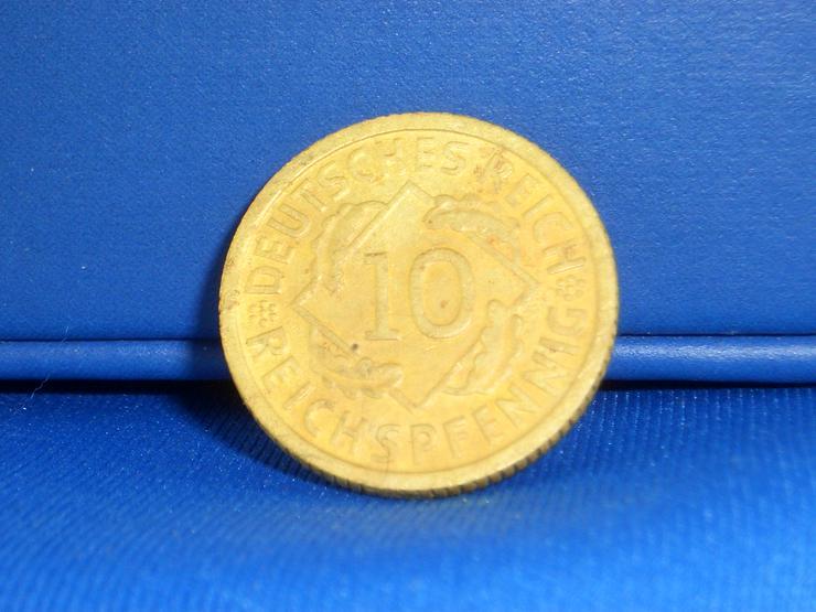 Bild 3: 10  Reichspfennig 1931 D  / RARITÄT