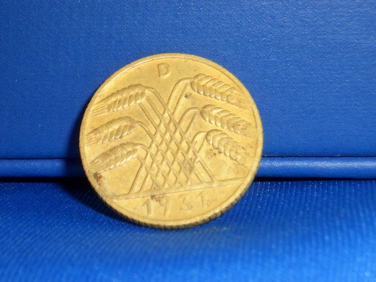 Bild 2: 10  Reichspfennig 1931 D  / RARITÄT