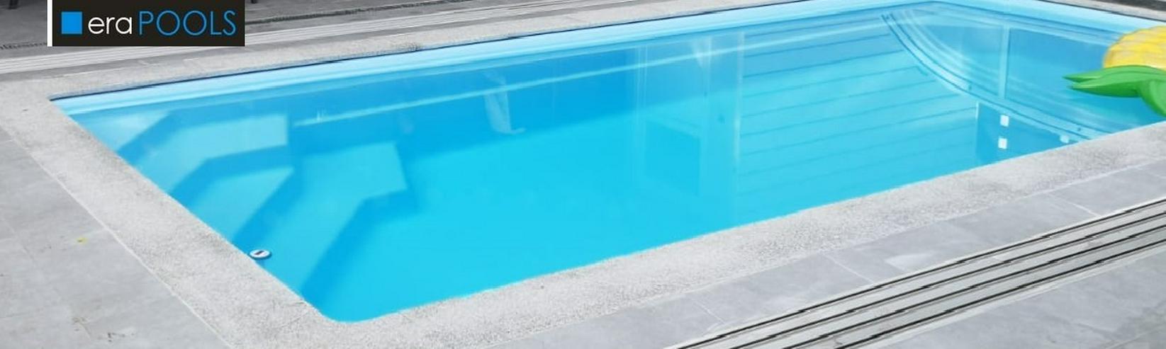 GFK Pool MINIORKA 6,30x3,10x1,50 alles Drum und Dran Schnäppchen