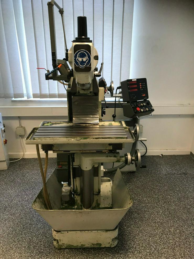 Universal Werkzeugfräsmaschine Deckel FP1 aus Lehrwerkstatt