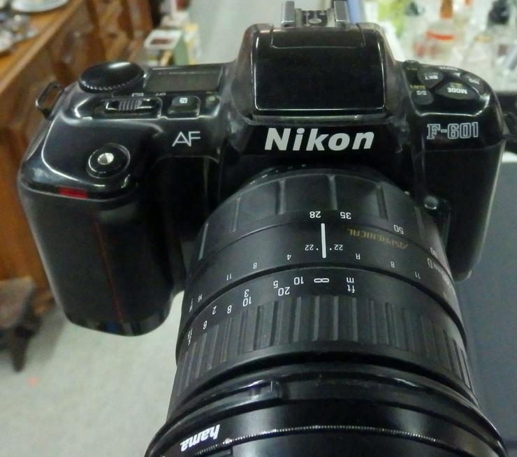 Spiegelreflexkamera Nikon F-601 - Analoge Spiegelreflexkameras - Bild 1