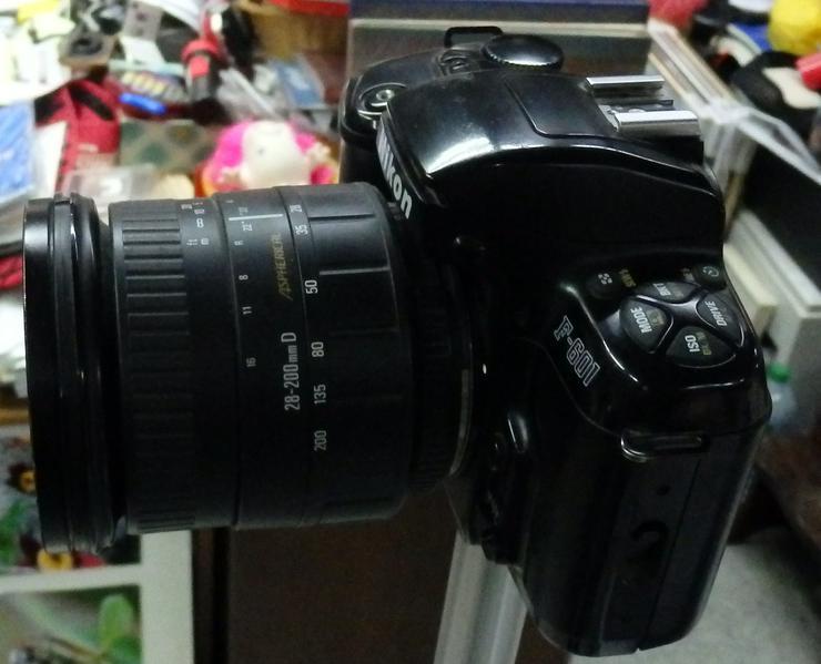 Bild 2: Spiegelreflexkamera Nikon F-601