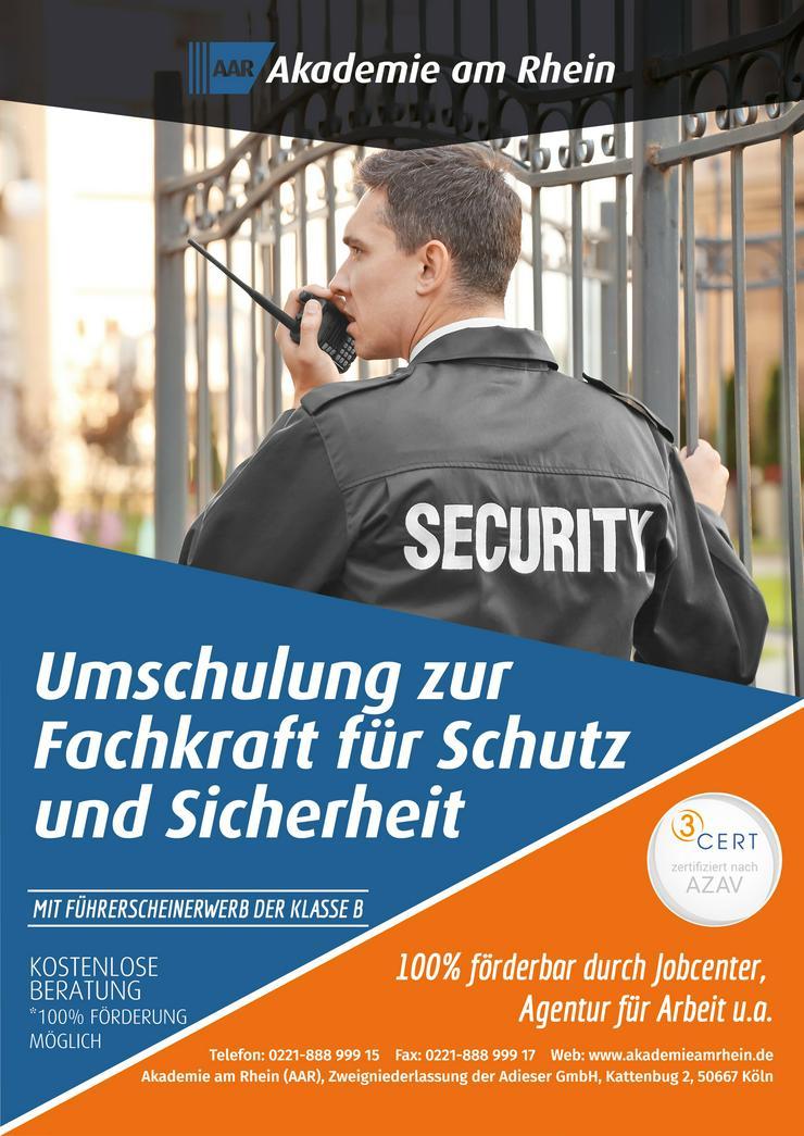 Fachkraft für Schutz und Sicherheit (Umschulung)