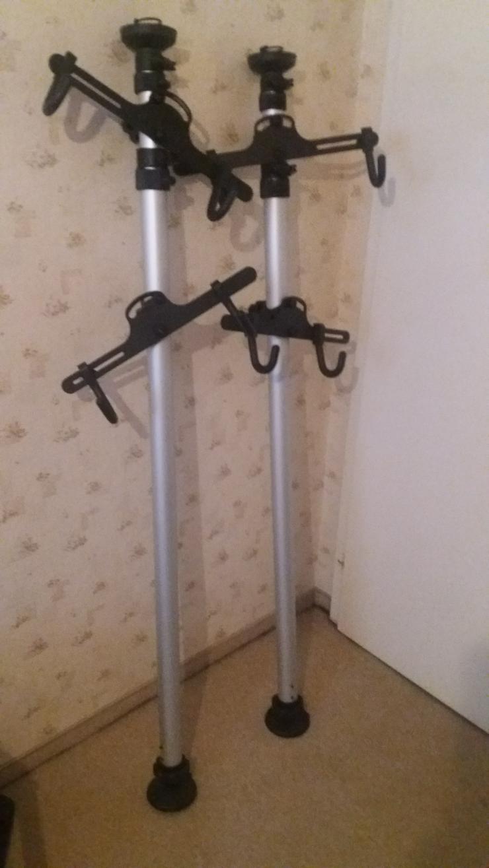 Teleskop Fahrradständer