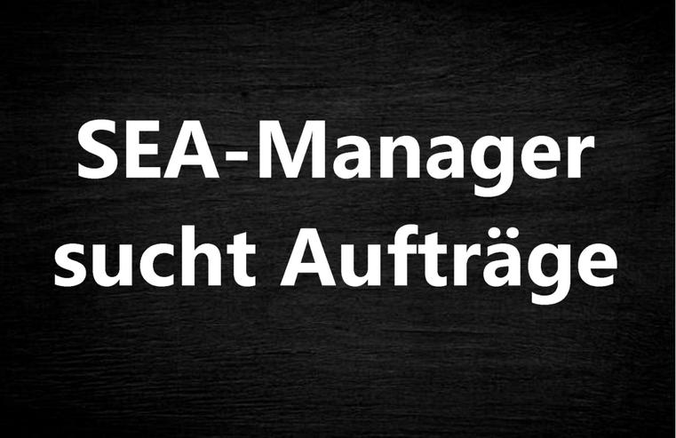 SEA/PPC Manager sucht Aufträge