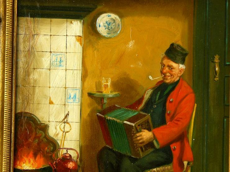 Bild 2: Gemälde Hans Fenger 1893-1980 (B071)