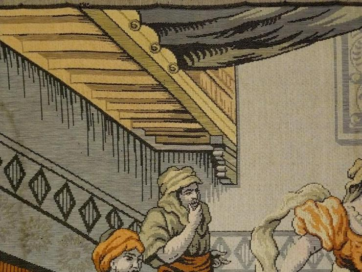 Bild 5: Gobelin Bildteppich antik 175x125 (G013)