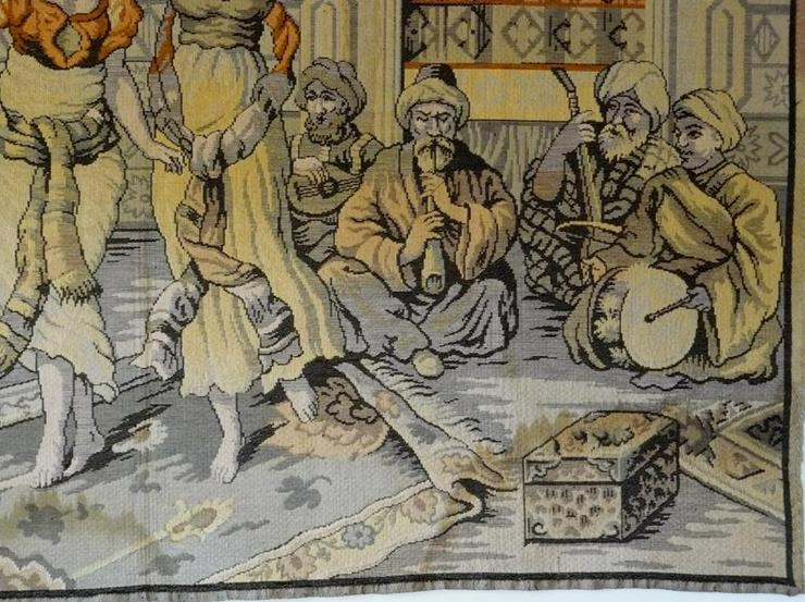 Bild 2: Gobelin Bildteppich antik 175x125 (G013)