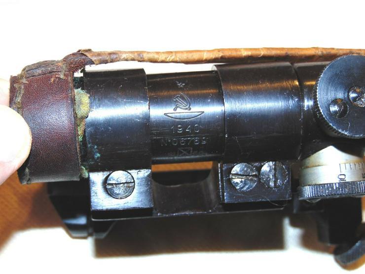 Zielfernrohr PU 1940 aus Wk2 fur Mosin - Weitere - Bild 3