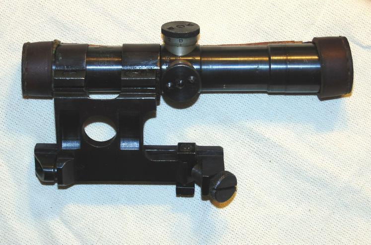Bild 1: Zielfernrohr PU 1940 aus Wk2 fur Mosin