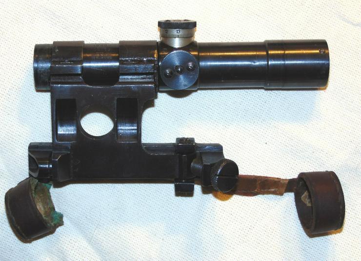 Bild 5: Zielfernrohr PU 1940 aus Wk2 fur Mosin