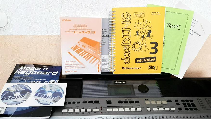 db36eba28b6ec Verkaufe mein gebrauchtes Yamaha PSR E 443 in Berlin - Prenzlauer ...