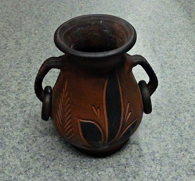 Braune Vase