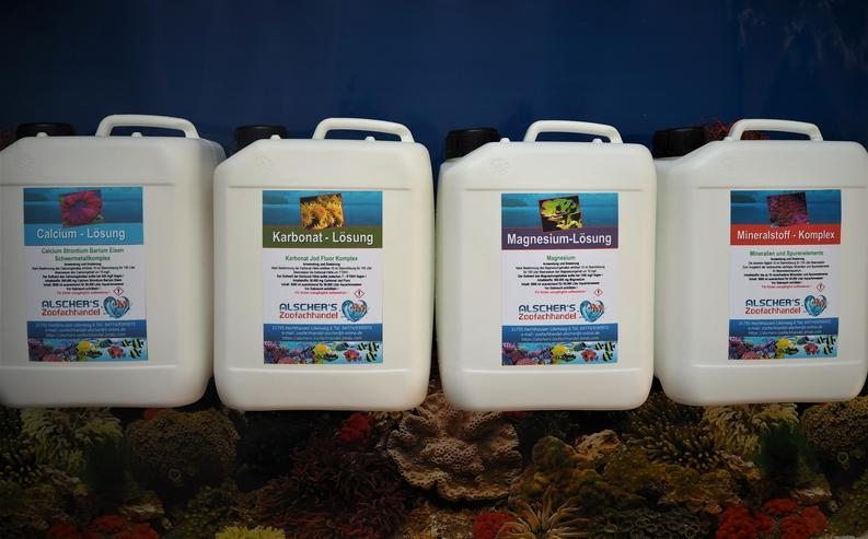 Kombipaket 2 Balling Lösungen Mineralien und Spurenelemente für Meerwasseraquarien - Aquarien Zubehör - Bild 1