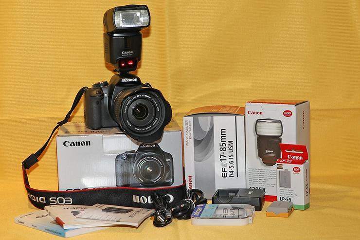 Foto: Canon EOS 450D + Zubehör