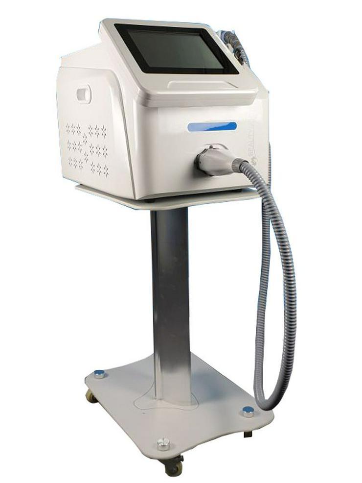 Bild 5: Diodenlaser SHR Laser mit ICE Freeze Kühlung und 3 Wellenlängen