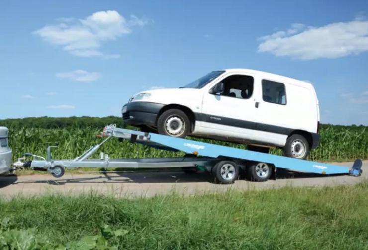 Bild 6: Autotransporter Autotransportanhänger Autotrailer mieten Verleih