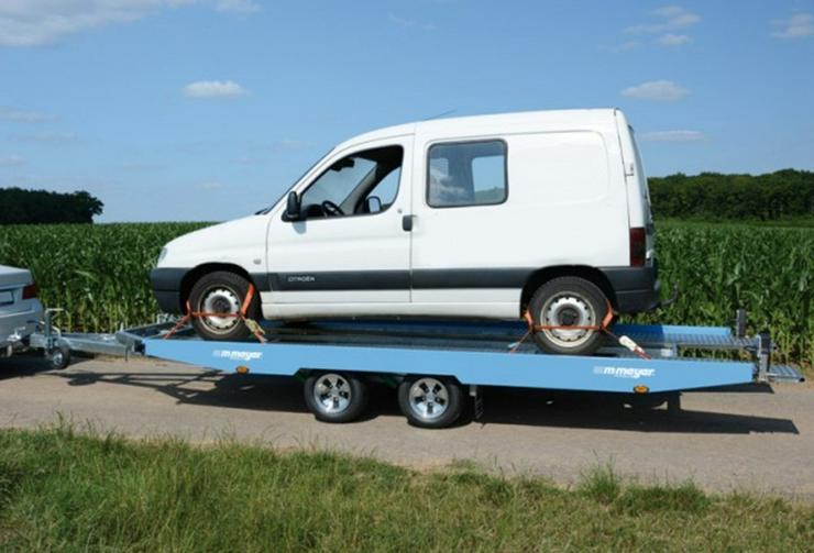 Bild 5: Autotransporter Autotransportanhänger Autotrailer mieten Verleih