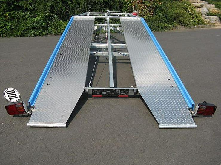 Bild 3: Autotransporter Autotransportanhänger Autotrailer mieten Verleih