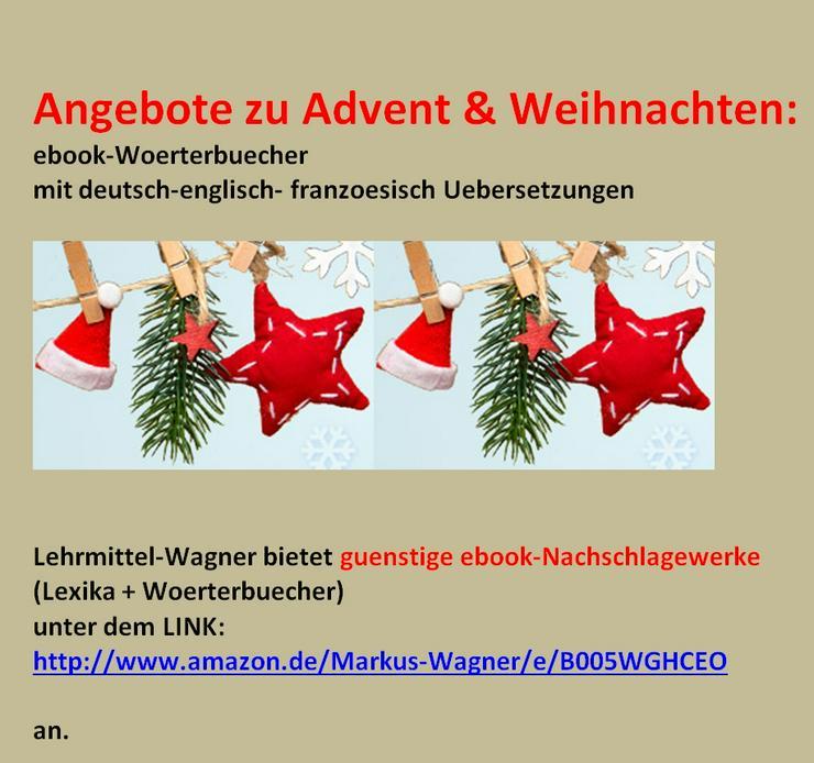 Advent & Weihnachten: ebook-Woerterbuecher