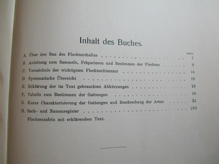 Bild 2: Die Strauch- und Laubflechten Mitteleuropas Josef Anders