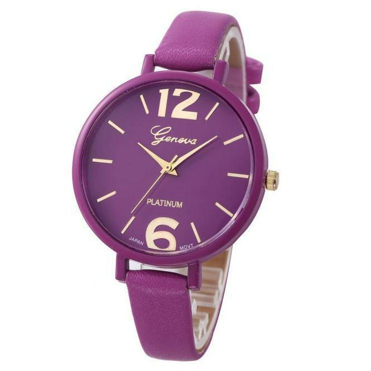 Damen Armbanduhr Geneva Platinum