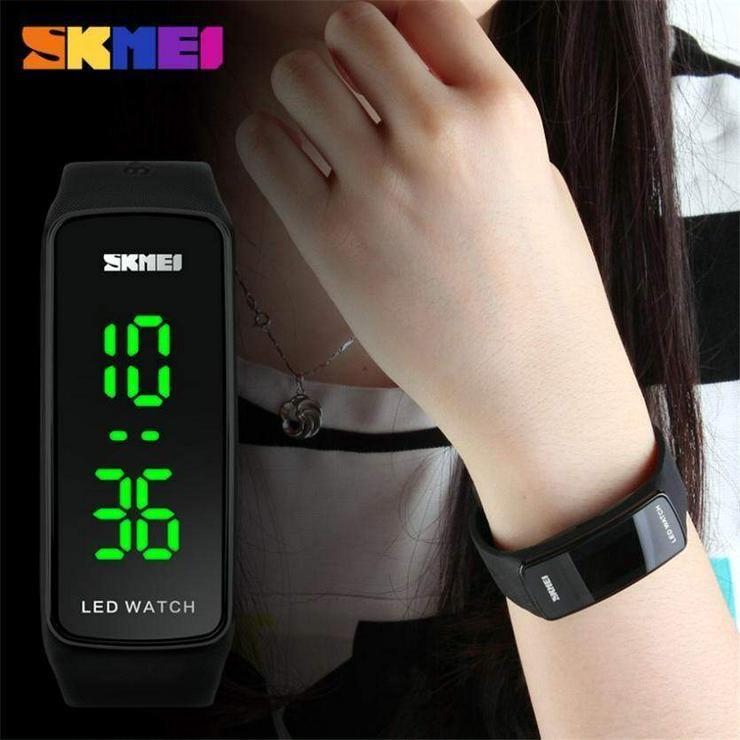 "Bild 3: Damen Armbanduhr Skmei ""Sportive LED Watch"""