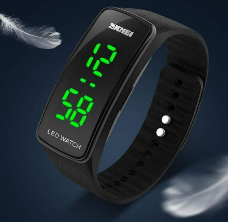 "Bild 2: Damen Armbanduhr Skmei ""Sportive LED Watch"""