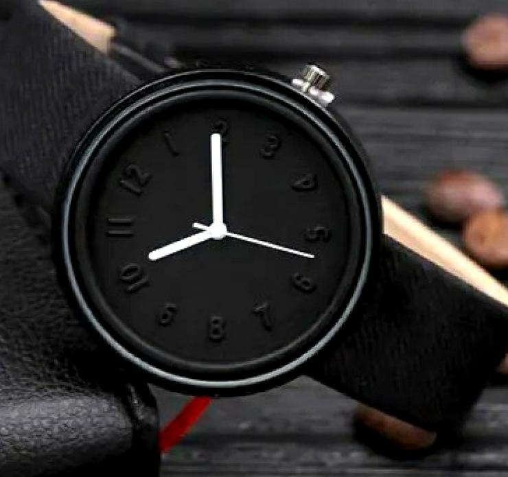 Bild 2: Damen Armbanduhr Deep Black Elegance