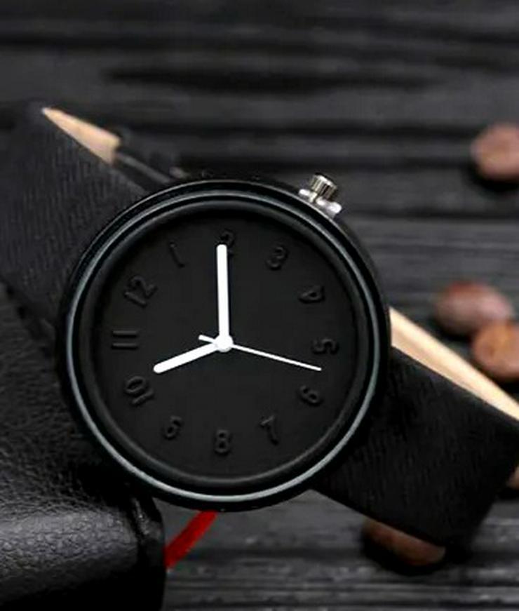 Damen Armbanduhr Deep Black Elegance  - Damen Armbanduhren - Bild 1