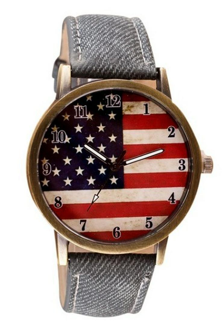 "Bild 2: Herren Armbanduhr ""American Flag"""