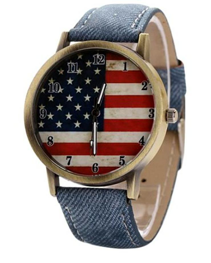 """Herren Armbanduhr """"American Flag"""" - Herren Armbanduhren - Bild 1"""