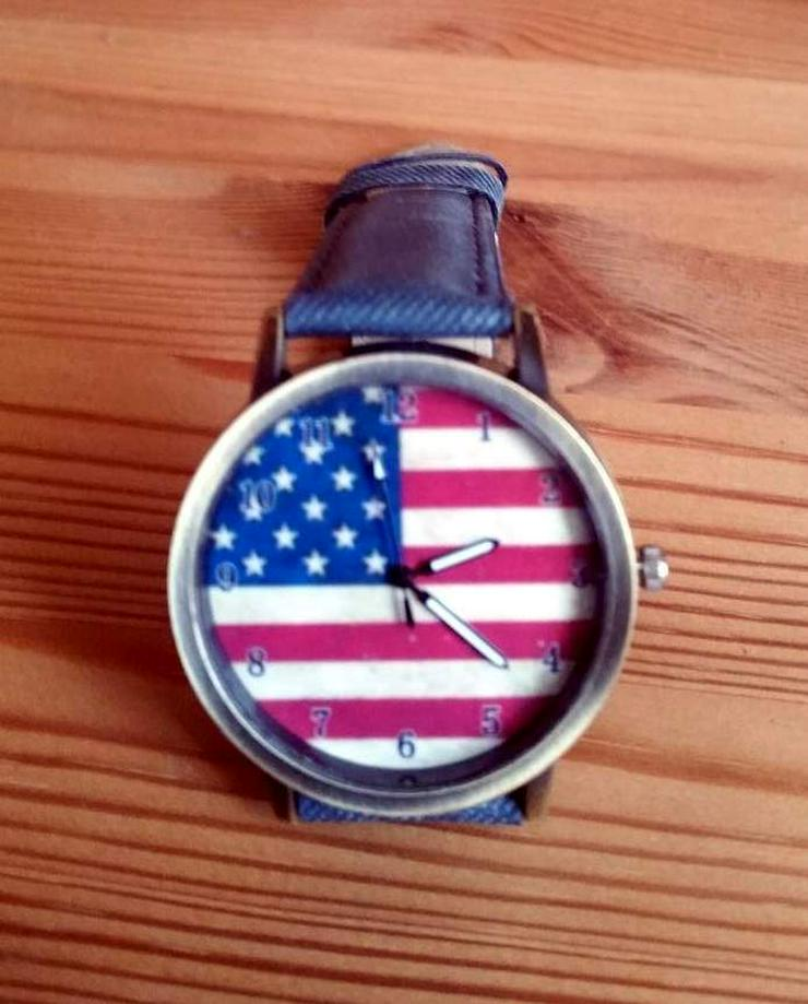 "Bild 4: Herren Armbanduhr ""American Flag"""