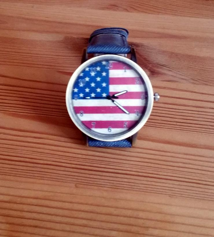 "Bild 3: Herren Armbanduhr ""American Flag"""