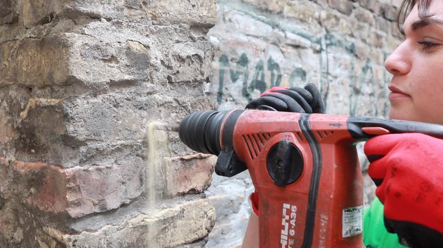 36V Akku Bohrhammer zu vermieten für 1€/Stunde