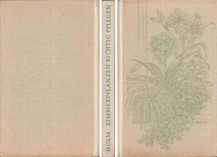 Buch von Hermann Holm - Zimmerpflanzen richtig pflegen - 1961 - Garten, Heimwerken & Wohnen - Bild 1